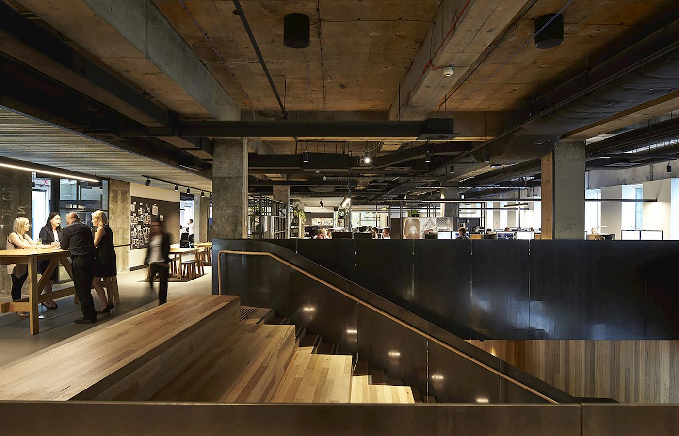 Woods Bagot Office Melbourne
